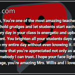 Comment From a Teacher