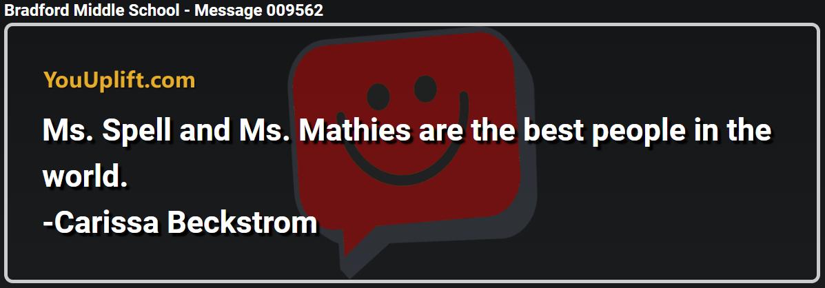 Message 009562