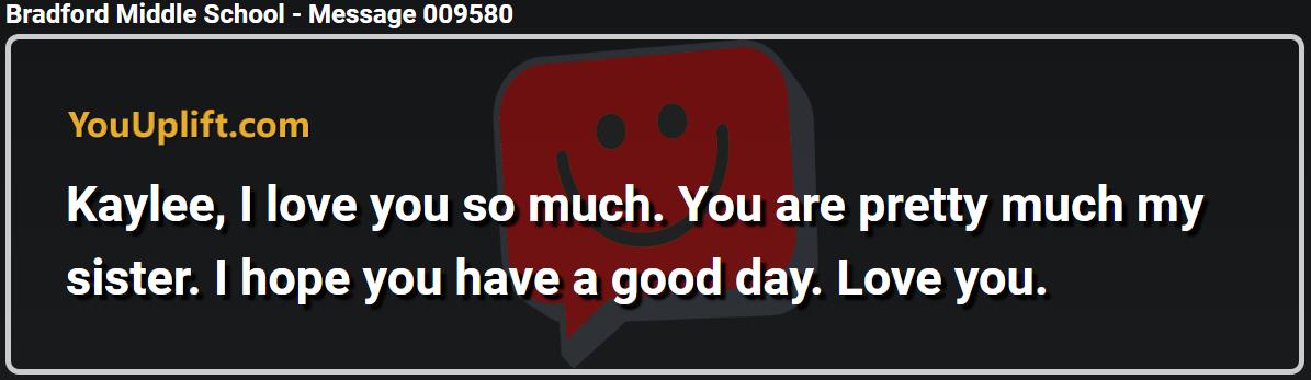 Message 009580