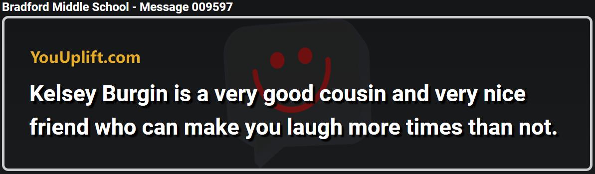 Message 009597