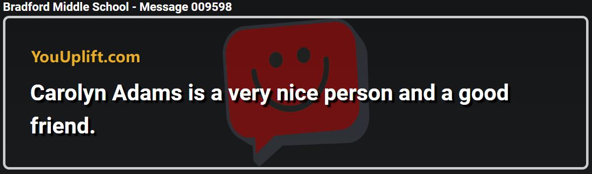 Message 009598