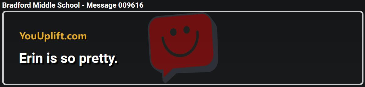 Message 009616