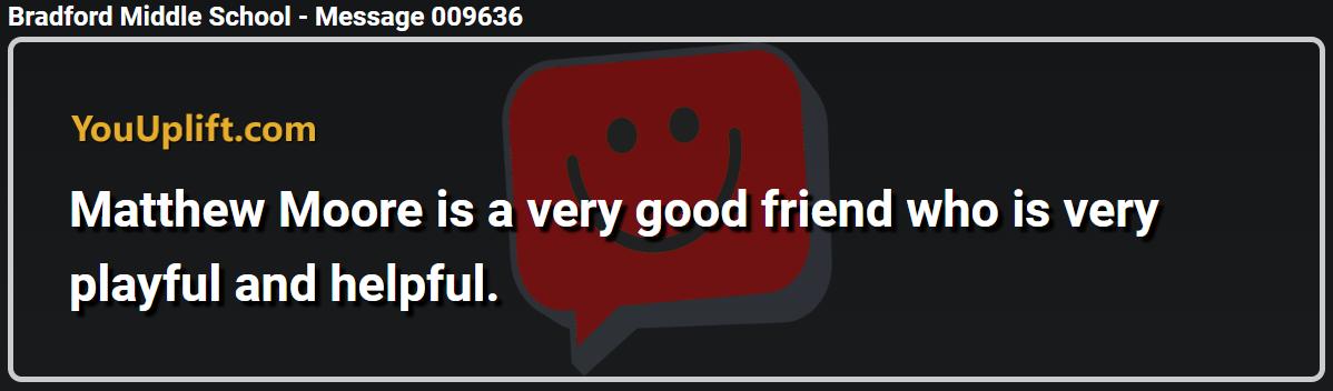 Message 009636