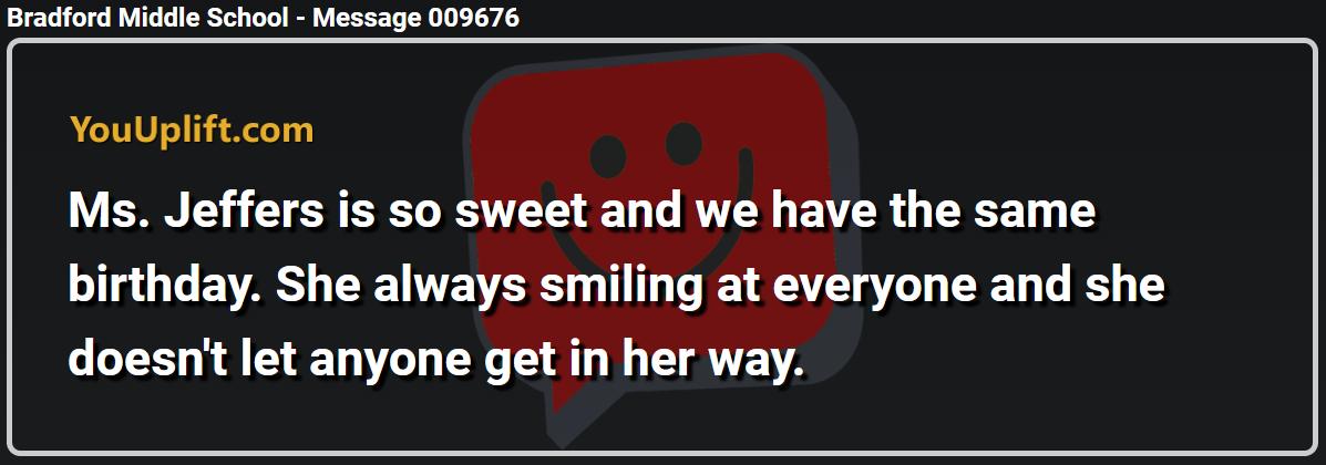Message 009676