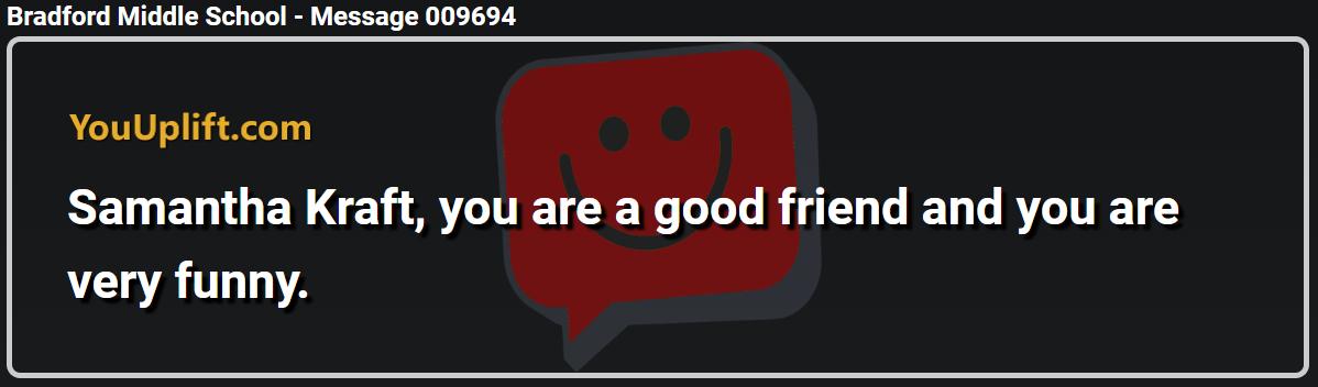 Message 009694