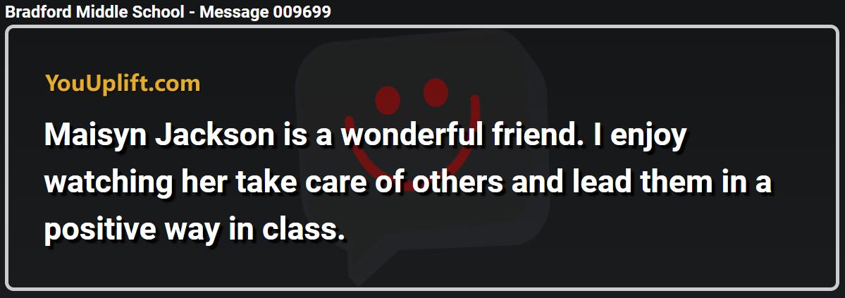 Message 009699