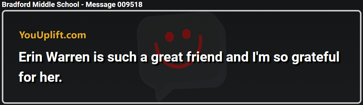 Message 009518