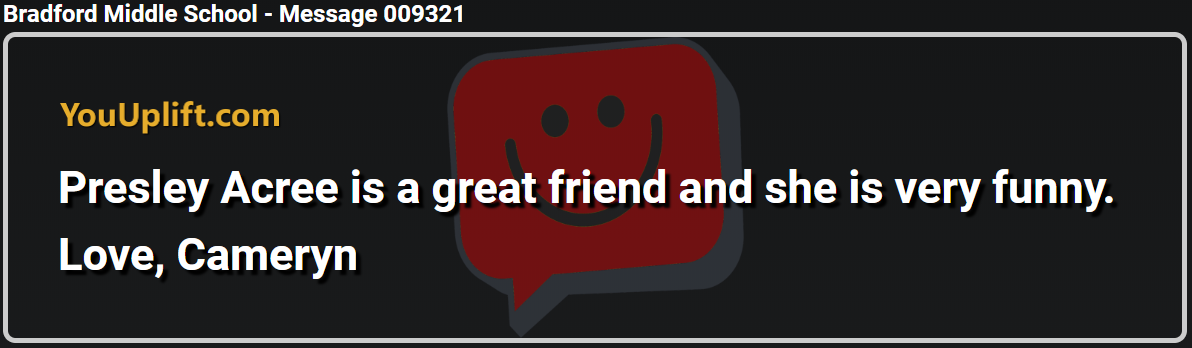 Message 009321