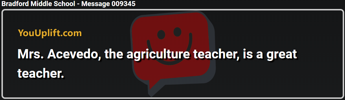 Message 009345