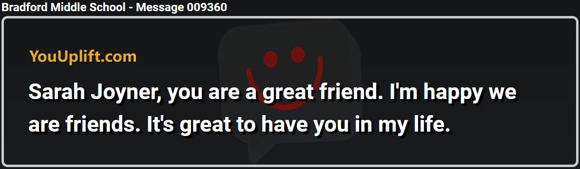 Message 009360