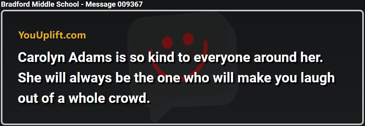 Message 009367